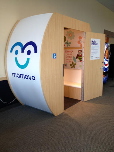 <p>Mamava aims to not just provide a generic space for pumping, but one that carefully considers the psychology and ease of the experience.</p>