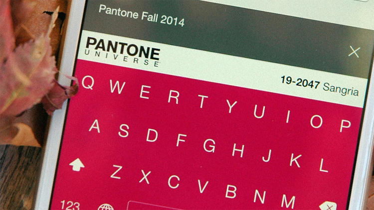 <p>Brightkey and Pantone's iPhone keyboard is not the true keyboard of colors I was envisioning.</p>