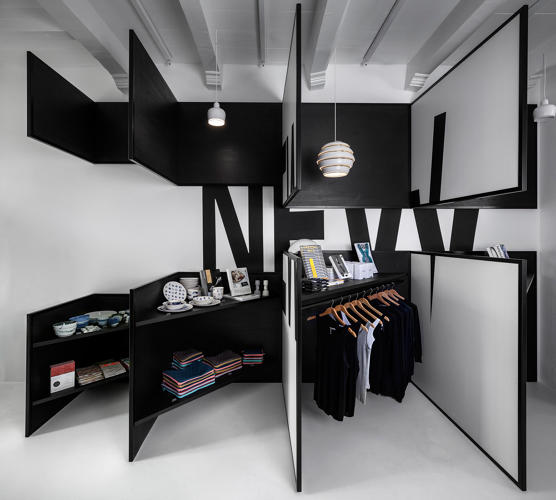 This Shop Is A Walk In Optical Illusion Co Design Business Design