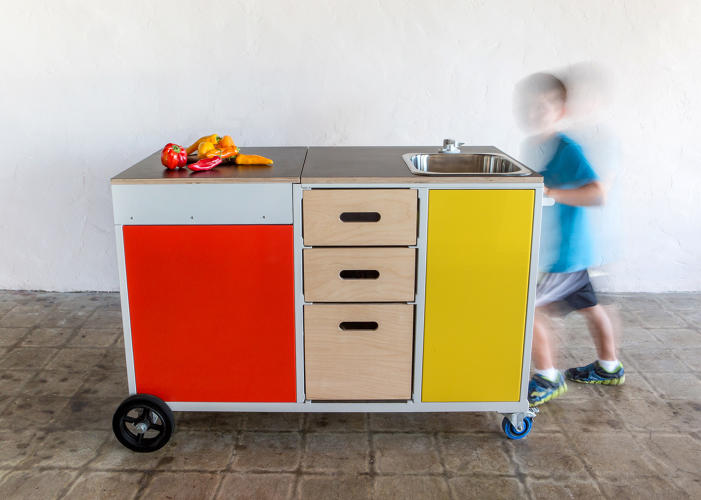 Modular Classroom Moving ~ A mobile kitchen designed to help kids learn like their