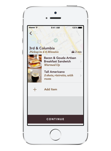 <p>Starbucks sees the app as, not just a way to order from your pocket, but a solution to long lines, and a way to coax consumers to buy coffee they may otherwise pass on.</p>