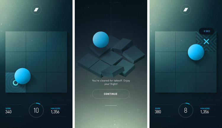 <p>ANA developed its app based on more than 1,000 passenger surveys, which determined that most people who don't like flying experience the most discomfort during takeoff. The surveys also revealed that those people mitigate anxiety with music and distracting games.</p>