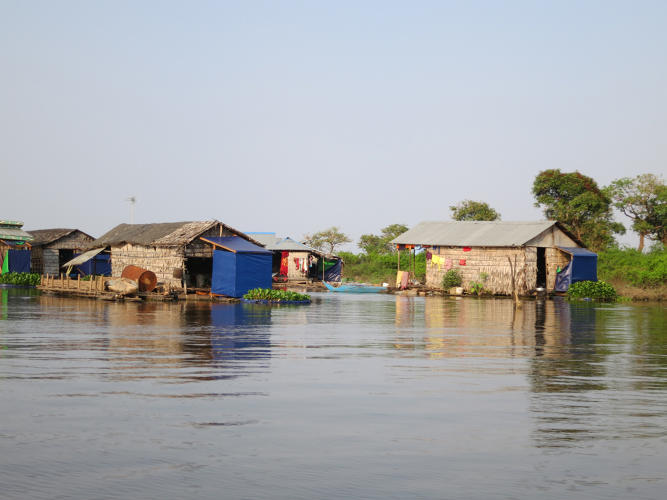 <p>And that leads to a major challenge: Nearly 100,000 people who live on or near the lake use the water as an open bathroom, spreading bacteria that cause deadly diseases like diarrhea and cholera. Now, an organization called <a href=&quot;http://wetlandswork.com/how-it-works/&quot; target=&quot;_blank&quot;>Wetlands Work!</a> is hoping to scale a new technology that can help: floating toilets that use wetland plants to filter and clean the waste.</p>