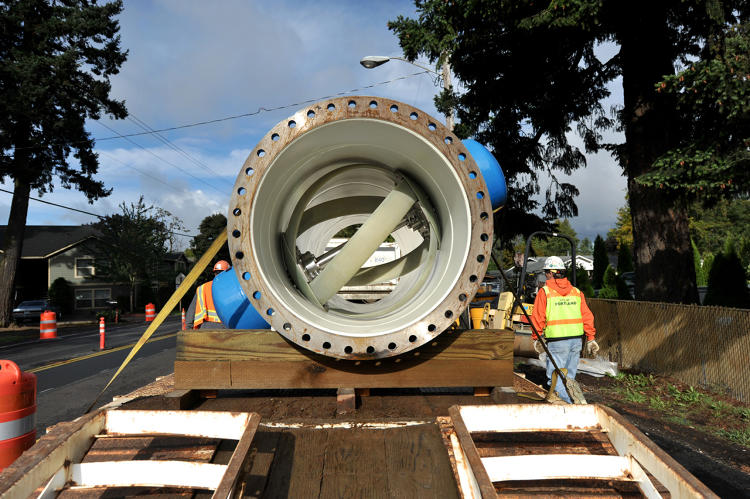 <p>In Portland, one of the city's main pipelines now uses Lucid's pipes to make power that's sent into the grid.</p>