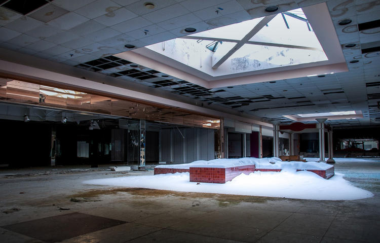 <p>The mall closed in 2008. &quot;It's up for auction, and it's going to be demolished this year if no one buys it,&quot; Lawless says.</p>