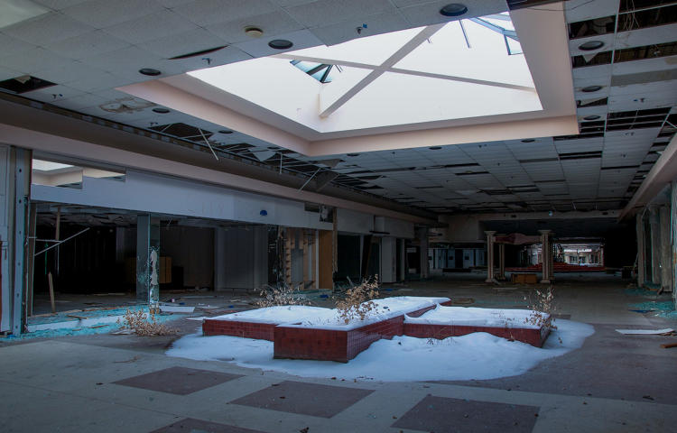 <p>Many more are in swift decline, including, ironically, the mall where George Romero filmed Dawn of the Dead in 1975. The zombie mall may soon look post-apocalyptic in real life.</p>