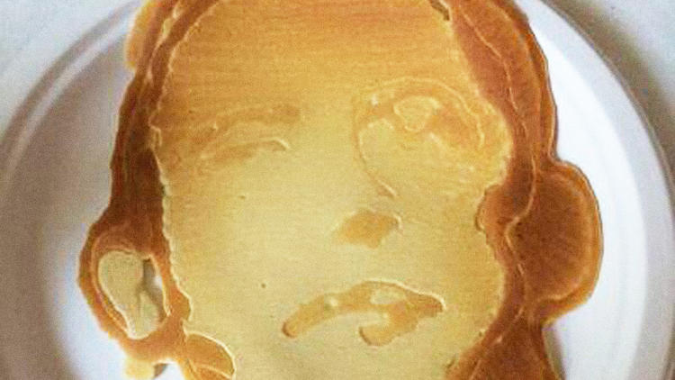 <p>Pancakes for breakfast might seem aspirational. Especially pancakes shaped like President Obama.</p>