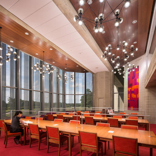 6 buildings that are redefining the library co design for Modern library building design