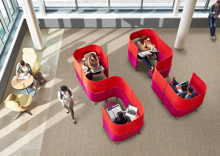 <p>Last year, Steelcase embarked on its first foray into more private office solutions with Susan Cain Quiet Spaces, a series of designs for shared, closed spaces within open offices that give workers a bit of respite from noise and distraction.</p>