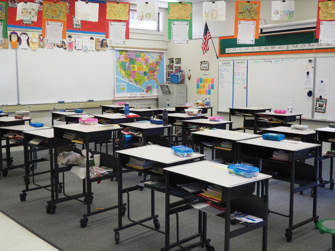 Should Your Kids School Have Standing Desks These