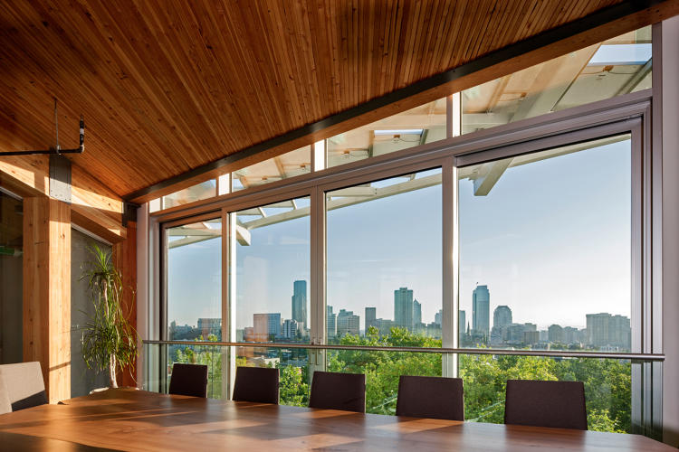 <p>Dubbed the greenest office building in the world, Seattle's Bullitt Center manages to combine virtually every possible sustainable building feature.</p>