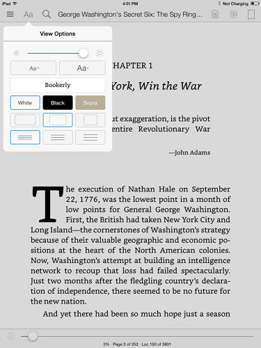 <p>Replacing Caecilia as the new default font for Kindle, Bookerly is a serif that has been custom-made by Amazon to be as readable across as many different types of screens as possible. Like Google's Literata, Bookerly is meant to address many of the aesthetic issues surrounding e-book fonts.</p>