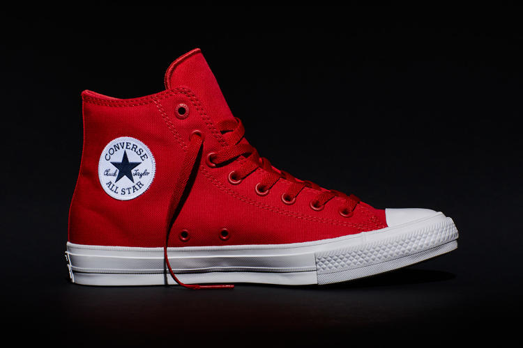 <p>Details like the All Star patch and the eyelets have a little more depth and dimension. The Chuck II are also slightly more comfortable to wear.</p>