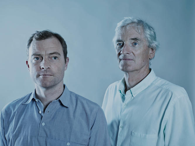 <p>&quot;We're both very passionate about technology,&quot; James Dyson (right) says of son Jake, who is now a senior executive at the company. &quot;We love making things and designing them, engineering them.&quot;</p>