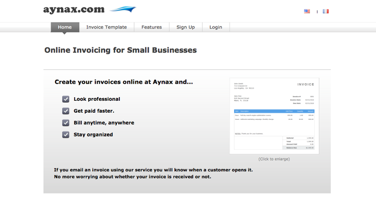 <p>Aynax is a simple program for tracking invoices, and sometimes that's all you need.</p>