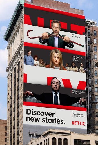<p>Netflix has unveiled a new brand.</p>