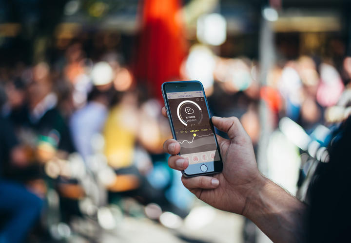 <p>The company already has apps (iOS, Android) designed for specific cities, which you can use to see when might be the safest time to go for a run or take your baby to the park.</p>