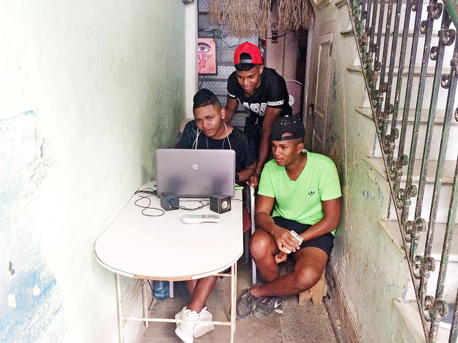 <p><a href=&quot;http://www.fastcompany.com/3048163/in-cuba-an-underground-network-armed-with-usb-drives-does-the-work-of-google-and-youtube&quot; target=&quot;_self&quot;>In a country nearly devoid of Internet access, the weekly distributors of <em>El Paquete</em> create a window to online content. <br /> </a></p>