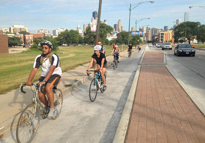 <p>Chicago is working not just on individual bike lanes, but a holistic bike system for the city.</p>