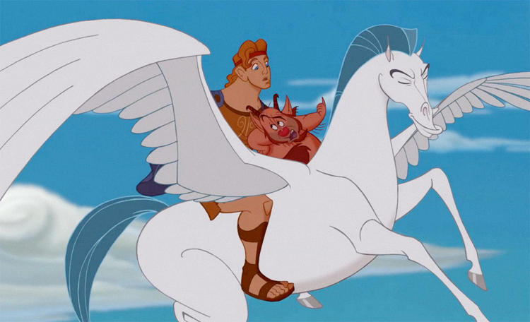 <p>Pegasus from <em>Hercules</em>, 1997</p>