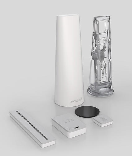 <p>The Droppler measures how much water you're using and gives real-time feedback.</p>