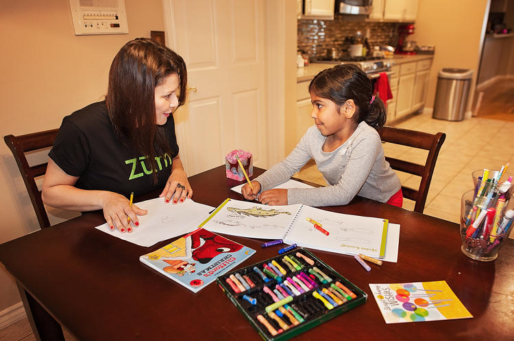 <p>Zum's child care providers can also stay with a child before or after their ride to help with homework or provide supervision until their parent arrives.</p>