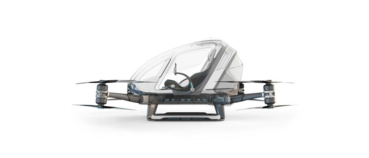 <p>If you thought hurtling along the streets in a driverless car was scary, how about a driverless helicopter aka a human-carrying drone?</p>