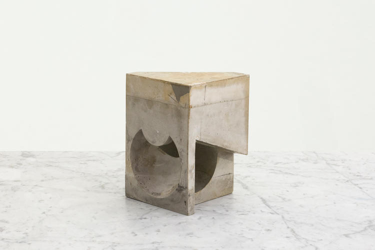 <p>The sculptural objects show the artistic side of architecture.</p>