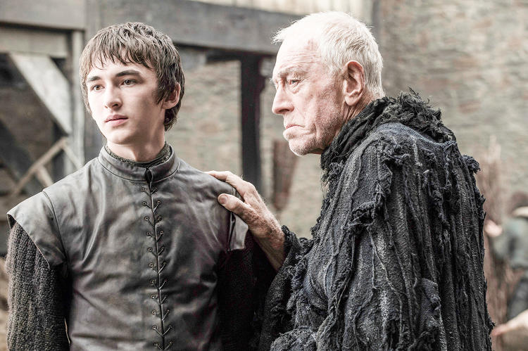 <p>After being left out of last season, Bran Stark (<strong>Isaac Hempstead Wright</strong>) is back. <strong>Max Von Sydow</strong> joins the cast as the three-eyed raven (don't ask)</p>