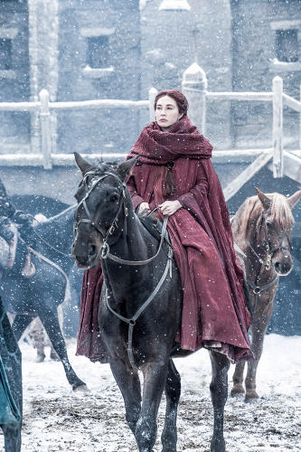 <p>Carice van Houten returns as the mysterious Melisandre - does her dark magic have anything to do with Jon Snow's possible return?</p>
