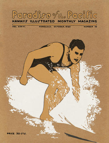 <p>Magazine cover, Paradise of the Pacific, 1923</p>