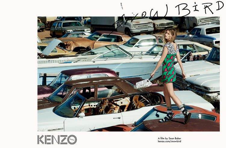 <p>A still from &quot;Snowbird,&quot; a film commissioned by French fashion brand Kenzo</p>