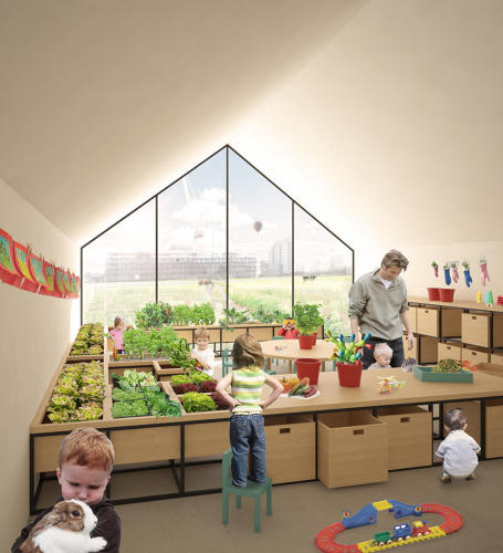 <p>&quot;We think that kids should enjoy nature,&quot; says Edoardo Capuzzo, a designer who won a recent architecture competition for the concept.</p>