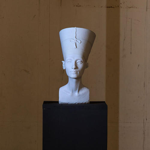 <p>The bust of Queen Nefertiti can now return to Egypt.</p>