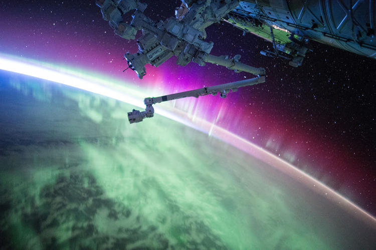 <p>In his year in space, Kelly took in the view and posted more than 700 photos to Instagram.</p>
