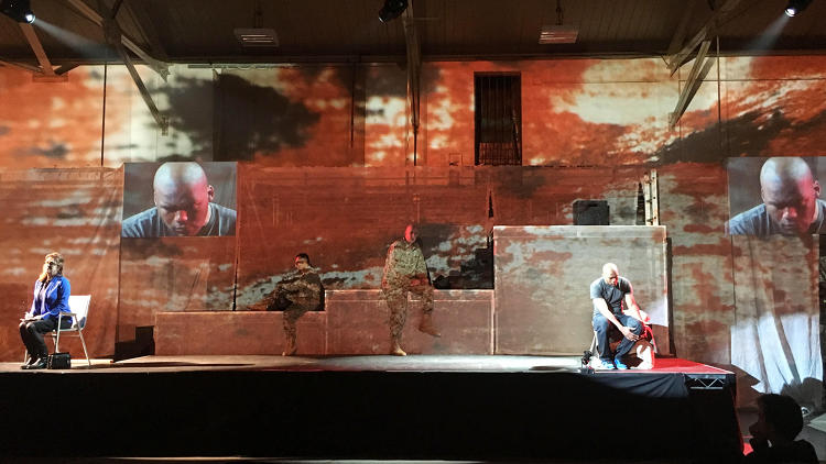 <p><em>Fallujah</em>, written by Heather Raffo, a New York-based librettist of Iraqi descent, and composed by Tobin Stokes</p>