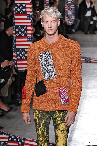 <p>A look from the Raf Simons &amp; Sterling Ruby fall/winter 2014 men's collection</p>