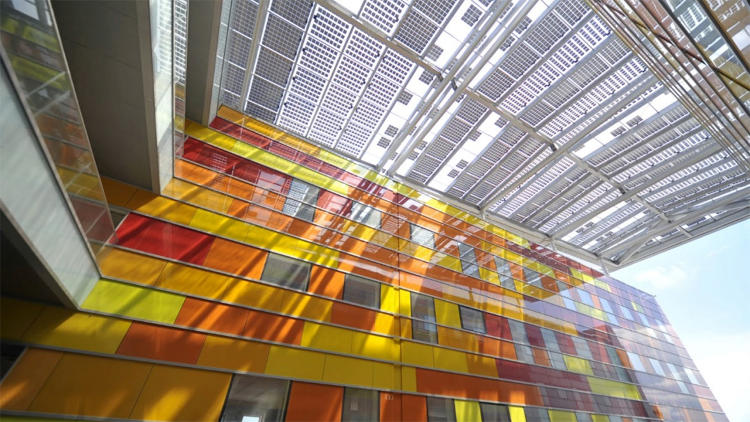 <p>Perovskites could some day turn building glass into solar PV cells.</p>