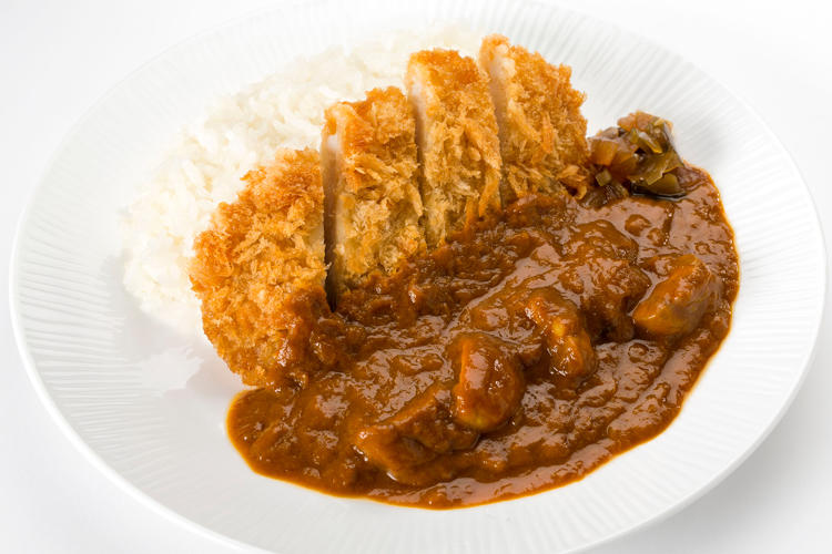 <p>Original curry with Sangenton pork cutlet.—ANA</p>