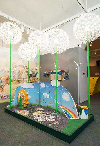 <p>The museum's mini golf installation from 2013 featured designs from local architects.</p>