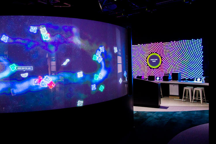 <p>It's one piece of a new interactive exhibit at San Jose's Tech Museum that's designed to teach anyone the fundamentals of synthetic biology.</p>