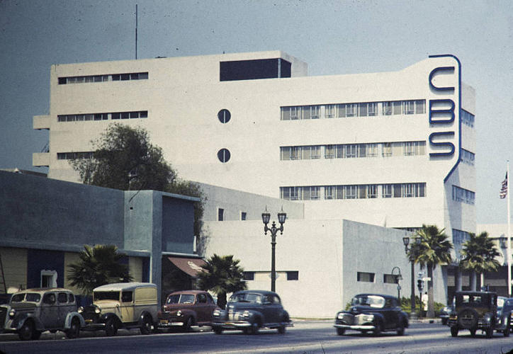 <p>CBS Headquarters, Hollywood, 1938. Architect: William Lescaze.</p>