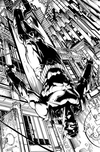 <p>Inside Batman #1. Artwork by David Finch</p>