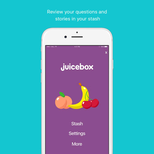 <p>A new app called Juicebox functions less like a pamphlet about STDs and birth control and more like a fun product like Snapchat.</p>