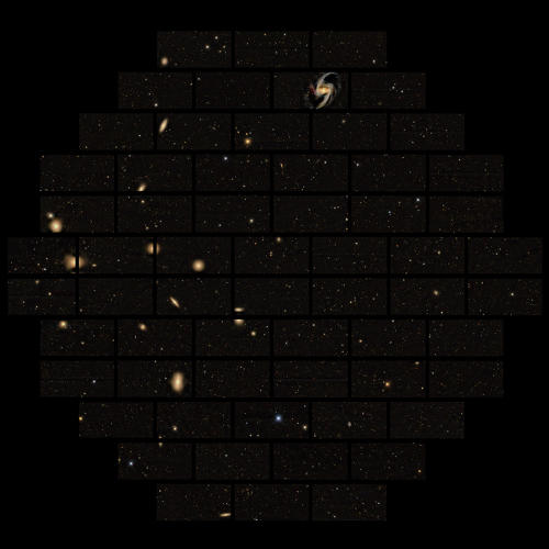 <p>Dark Energy Survey is a joint effort of 120 scientists in 23 institutions to survey the night sky.</p>