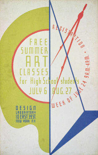 <p>Free summer art classes for high school students, 1936-38.</p>