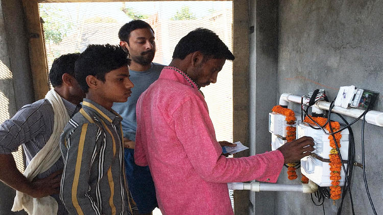 <p>In India, 600 million people lack access to a clean toilet, and, lately, the government has been on a big drive to build more of them.</p>