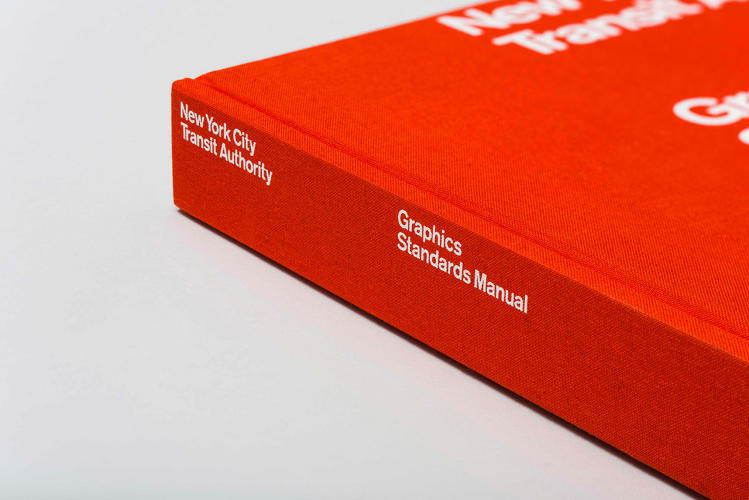 <p>New York City Transit Authority &quot;Graphics Standards Manual&quot;, designed by Massimo Vignelli and Bob Noorda</p>