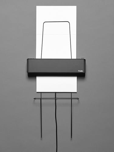 <p>WP 01 Wall Printer by Nadine Schaub</p>