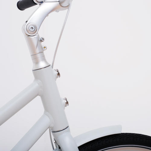 <p>The step-in frame makes it simpler to get on and off, and is designed to double as a perfectly balanced handle if you need to carry the bike.</p>